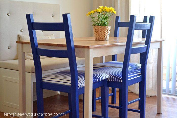 Meuble Salle A Manger Ikea Élégant Photographie Transformer Des Chaises Ikea Et Une Table Pour Les Rendre Plus