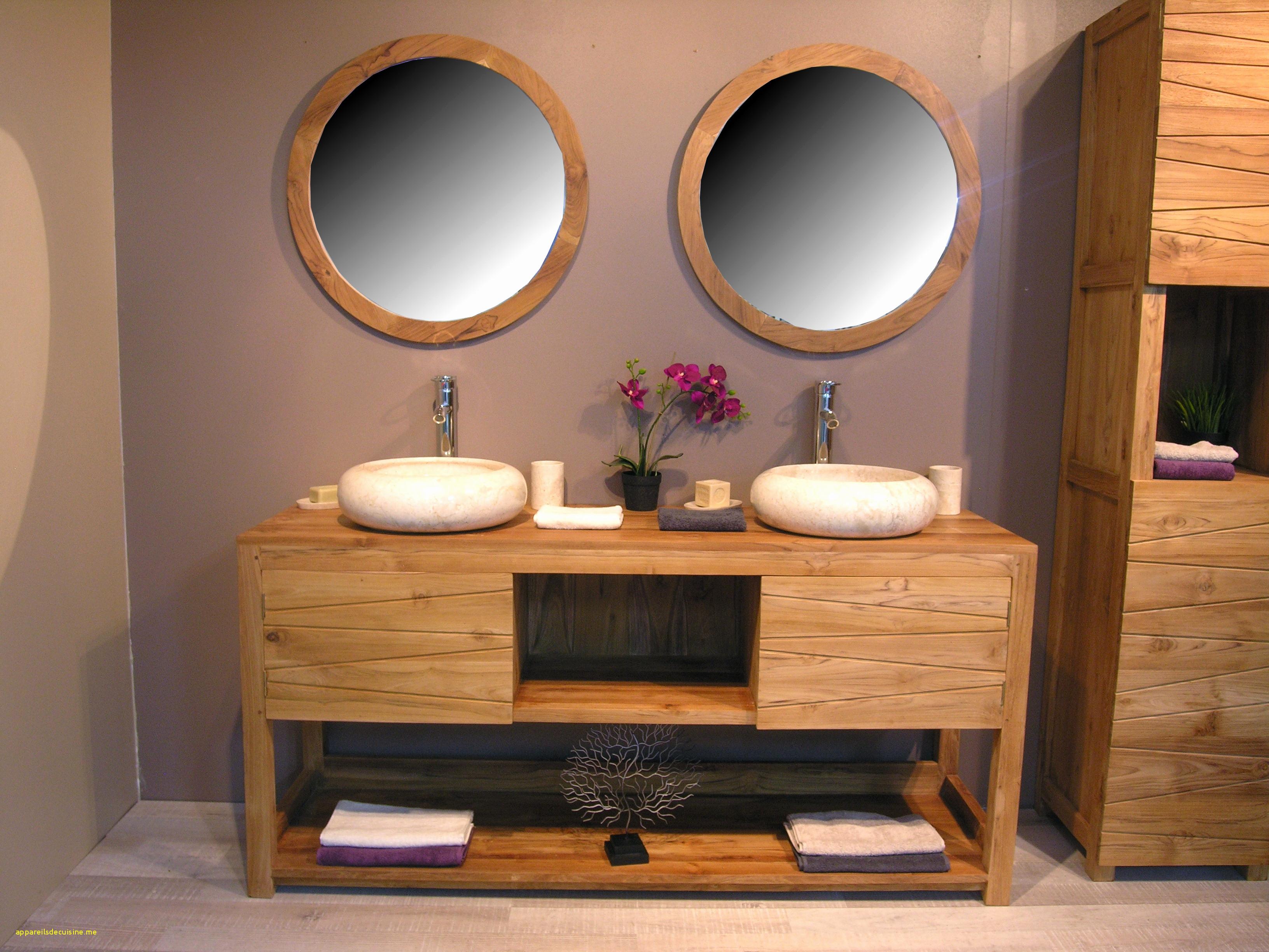 Meuble Salle De Bain Double Vasque Ikea Inspirant Image Meuble Double Vasque 15 Pas Cher Frais De Salle Bain En Bois