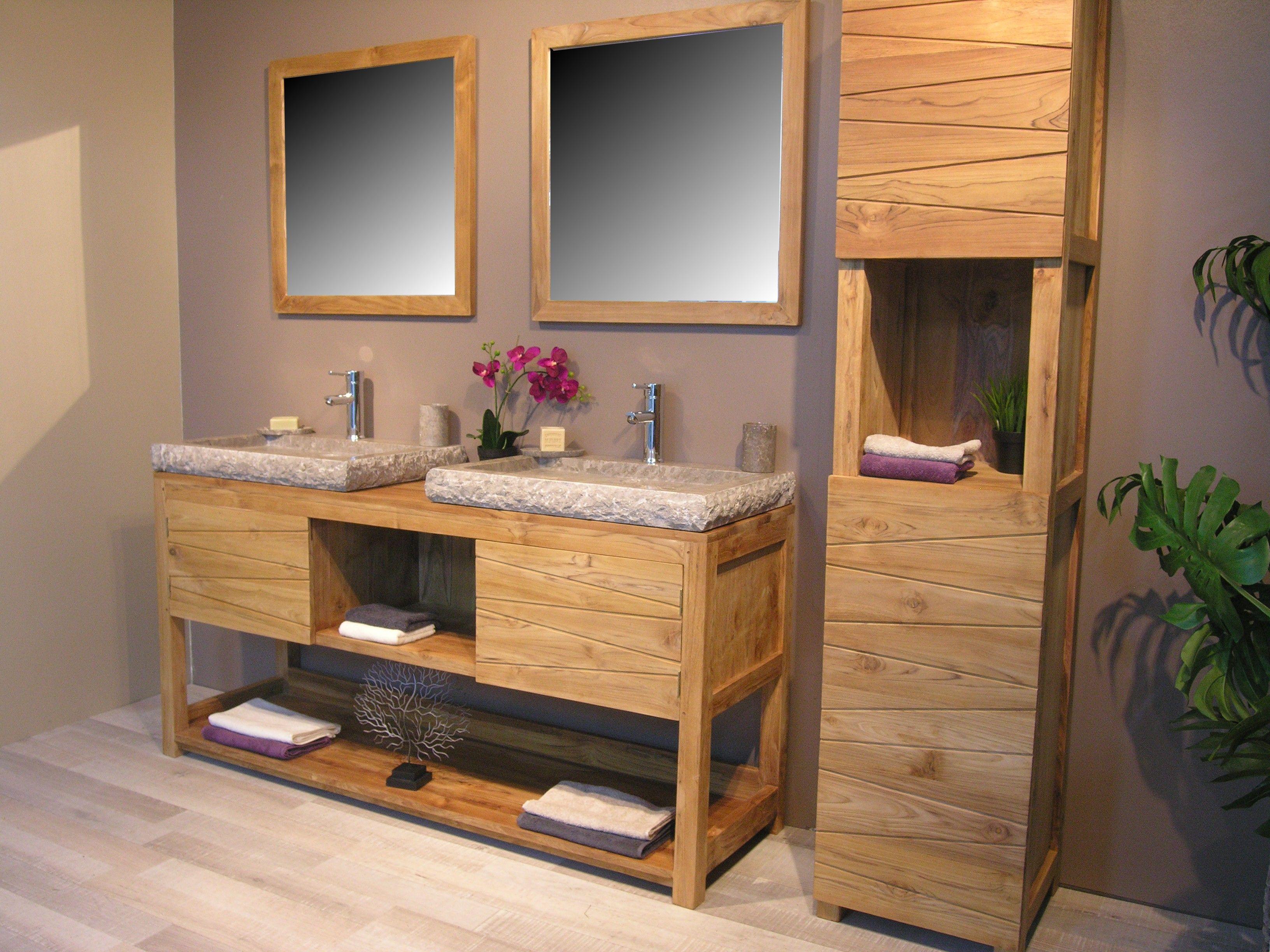 Meuble Salle De Bain Double Vasque Ikea Luxe Stock Meuble Double Vasque 15 Pas Cher Frais De Salle Bain En Bois