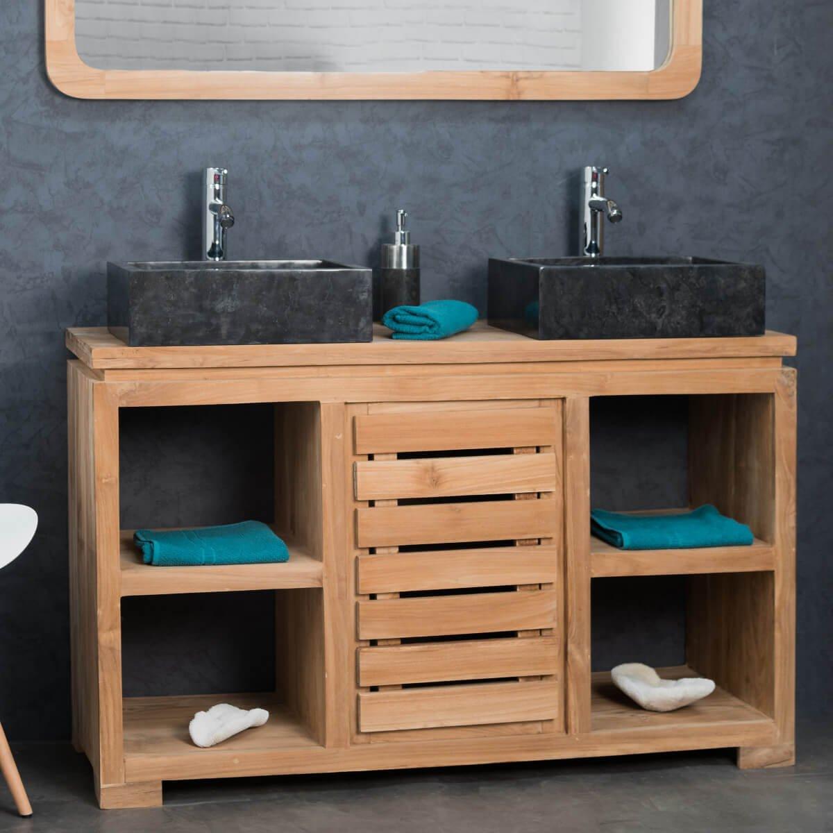 Meuble Salle De Bain Double Vasque Ikea Meilleur De Image √ Evier Salle De Bain Magnifique Meuble En Teck Salle De Bain 35