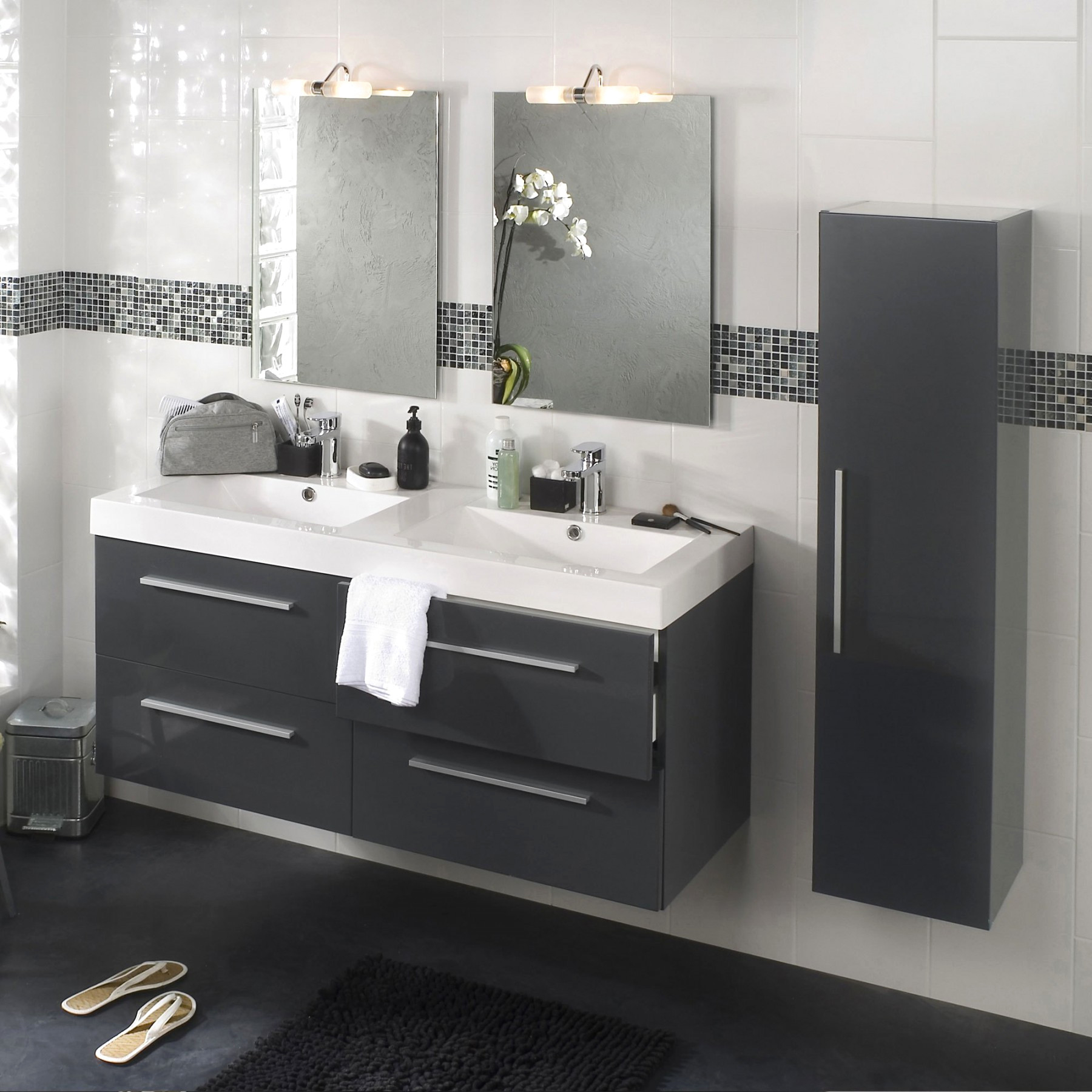 Meuble Salle De Bain Double Vasque Leroy Merlin Inspirant Image Meuble Double Vasque Dimension Affordable Finest Meuble Lavabo