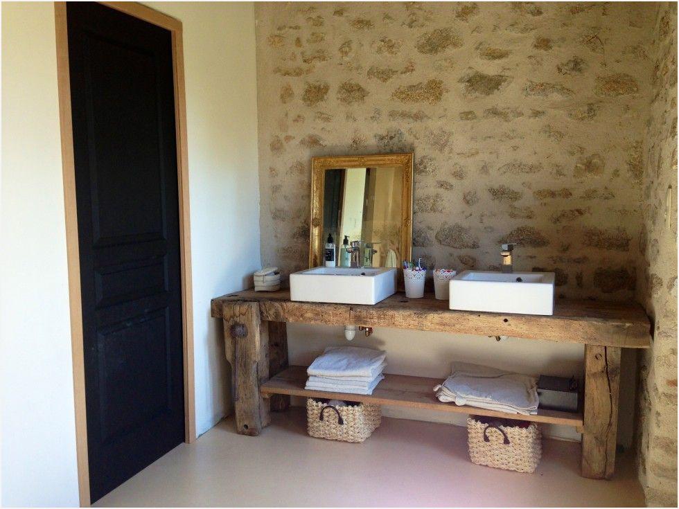 Meuble Salle De Bain Etabli Élégant Image Miroir Meuble Salle De Bain Mentaires Le Meuble Vasque Un Vieil