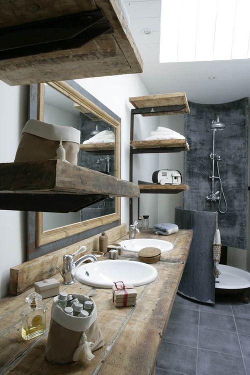 Meuble Salle De Bain Etabli Unique Photos Chamallow Déco Pinterest