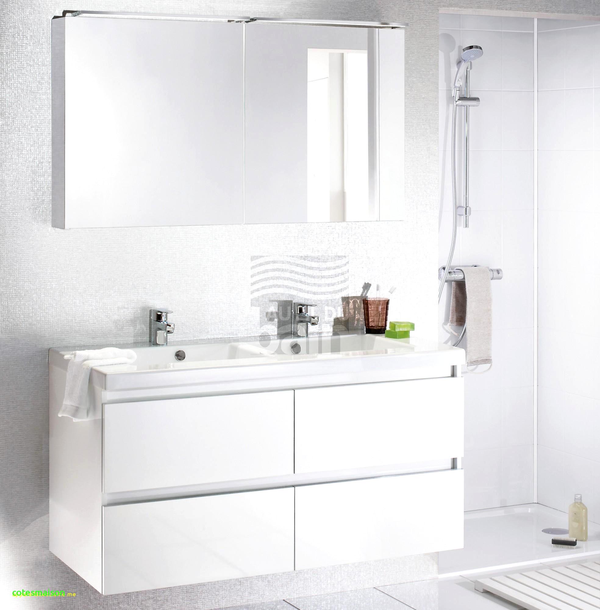 Meuble Salle De Bain Ikea Double Vasque Impressionnant Galerie Le Brillant Aussi Beau Lavabo Avec Meuble Sur Pieds – Cotesmaison
