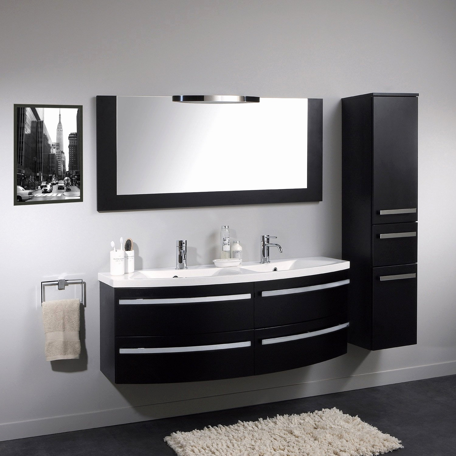 74 beau images de meuble salle de bains ikea. Black Bedroom Furniture Sets. Home Design Ideas