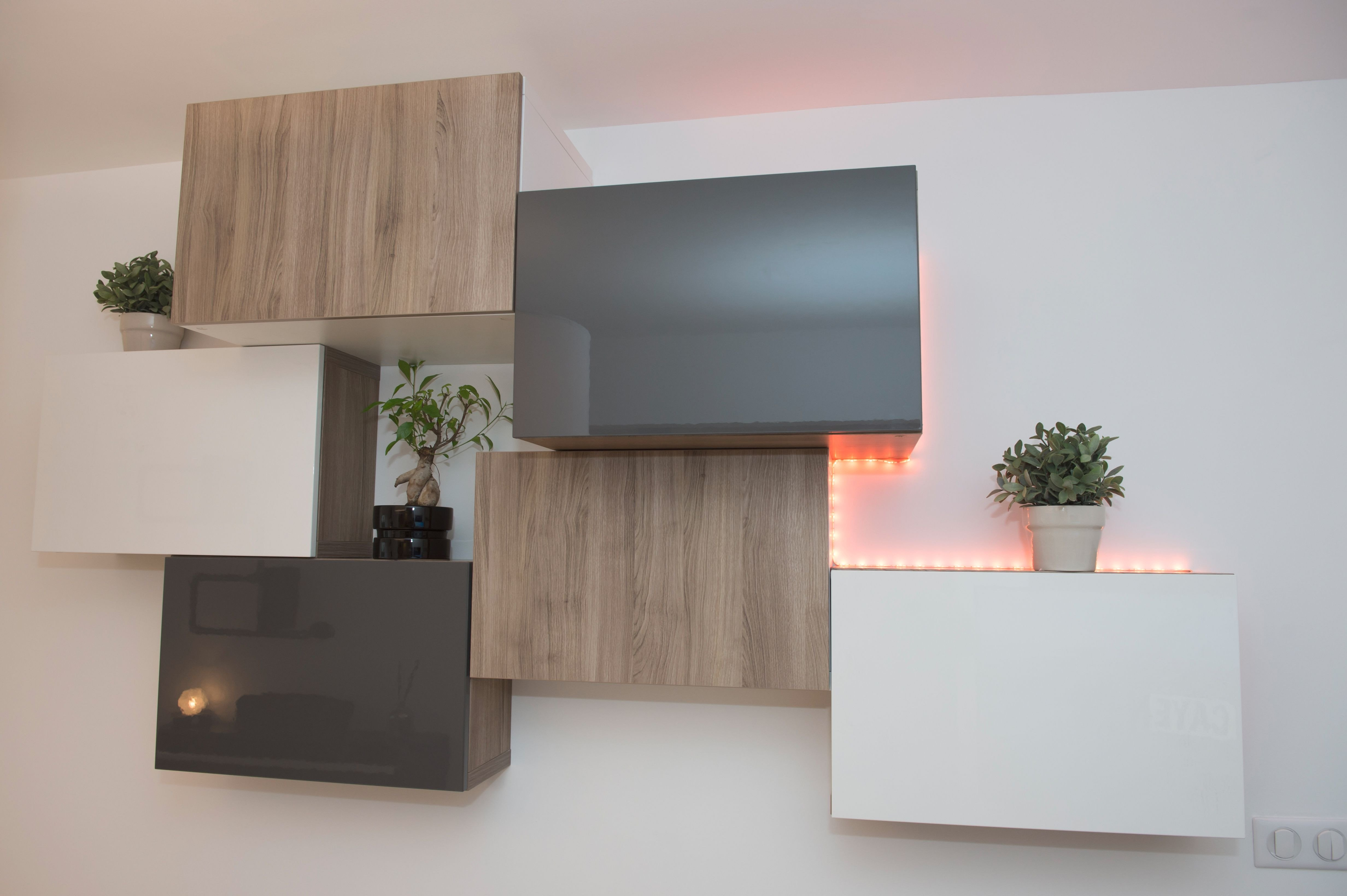 Meuble Tv Placo Design Impressionnant Photos √ Meuble Tv Dangle Charmant Meuble Angle Tv Amazing Meuble Dangle