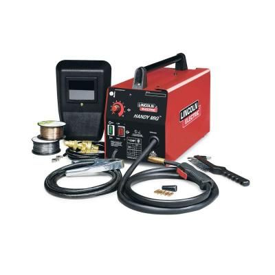Mig Brico Depot Inspirant Photos Lincoln Electric 88 Amp Handy Mig Wire Feed Welder with Gun Samples