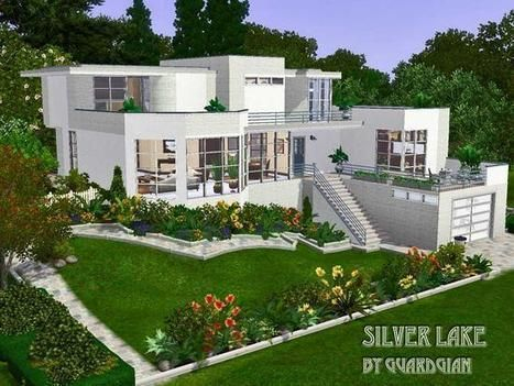 Minecraft Deco Moderne Beau Collection Guardgian S Silver Lake