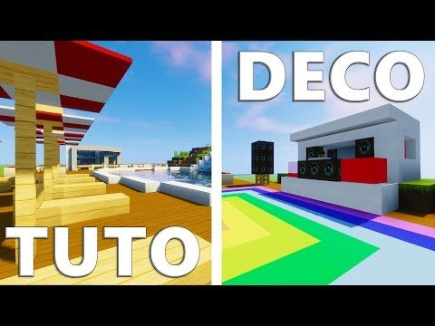 Minecraft Deco Moderne Frais Collection Tuto Deco Maison Moderne Minecraft Moderne