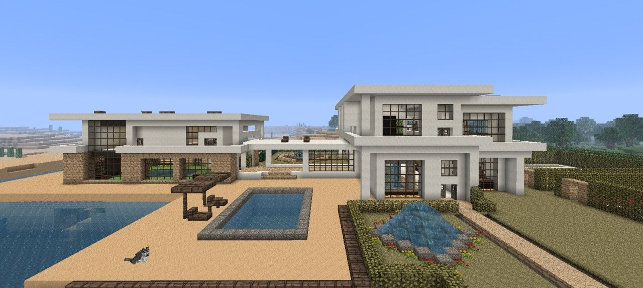 Minecraft Deco Moderne Inspirant Images Minecraft Beach House