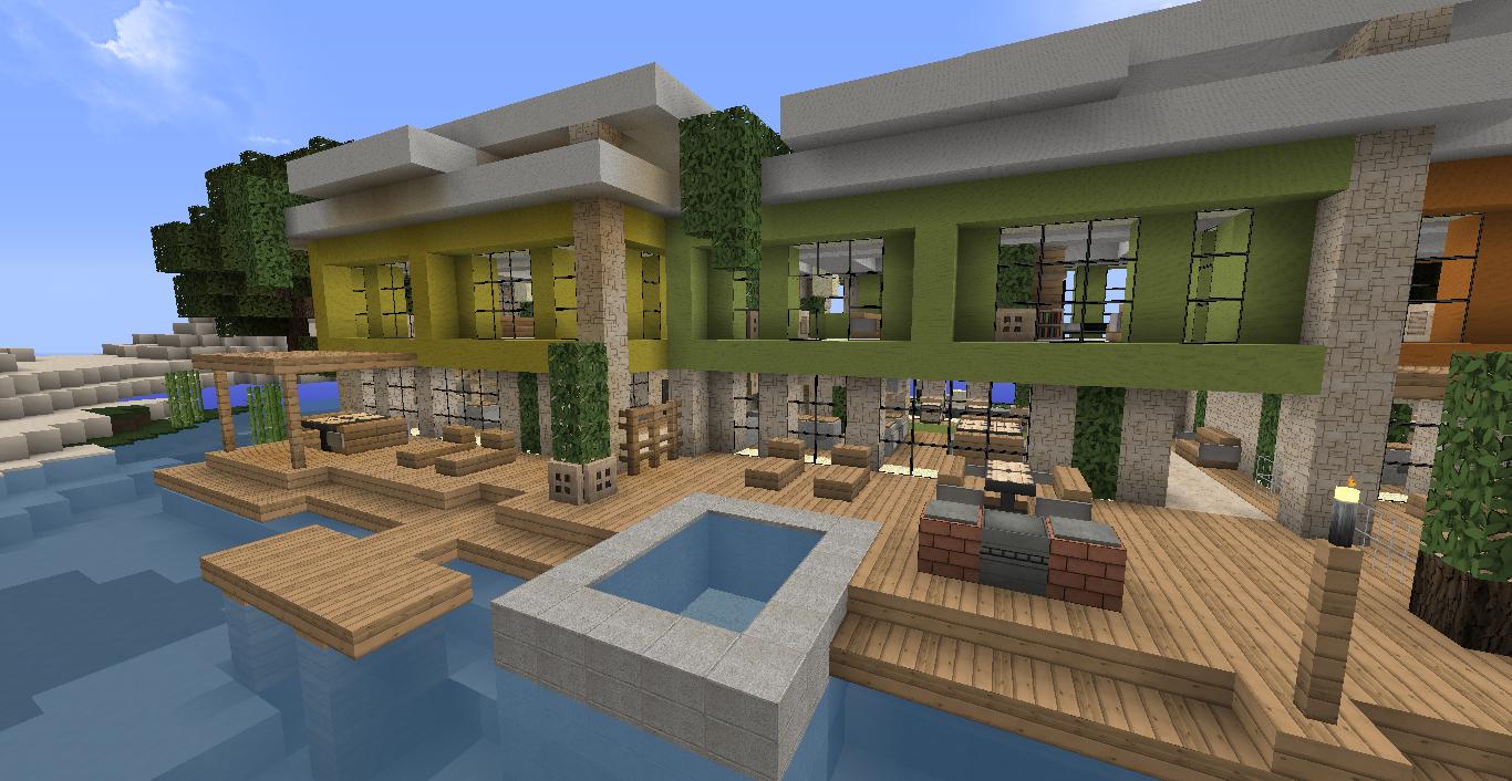 Minecraft Deco Moderne Luxe Photographie Construire Maison Minecraft Elegant Minecraft Plan Maison Moderne