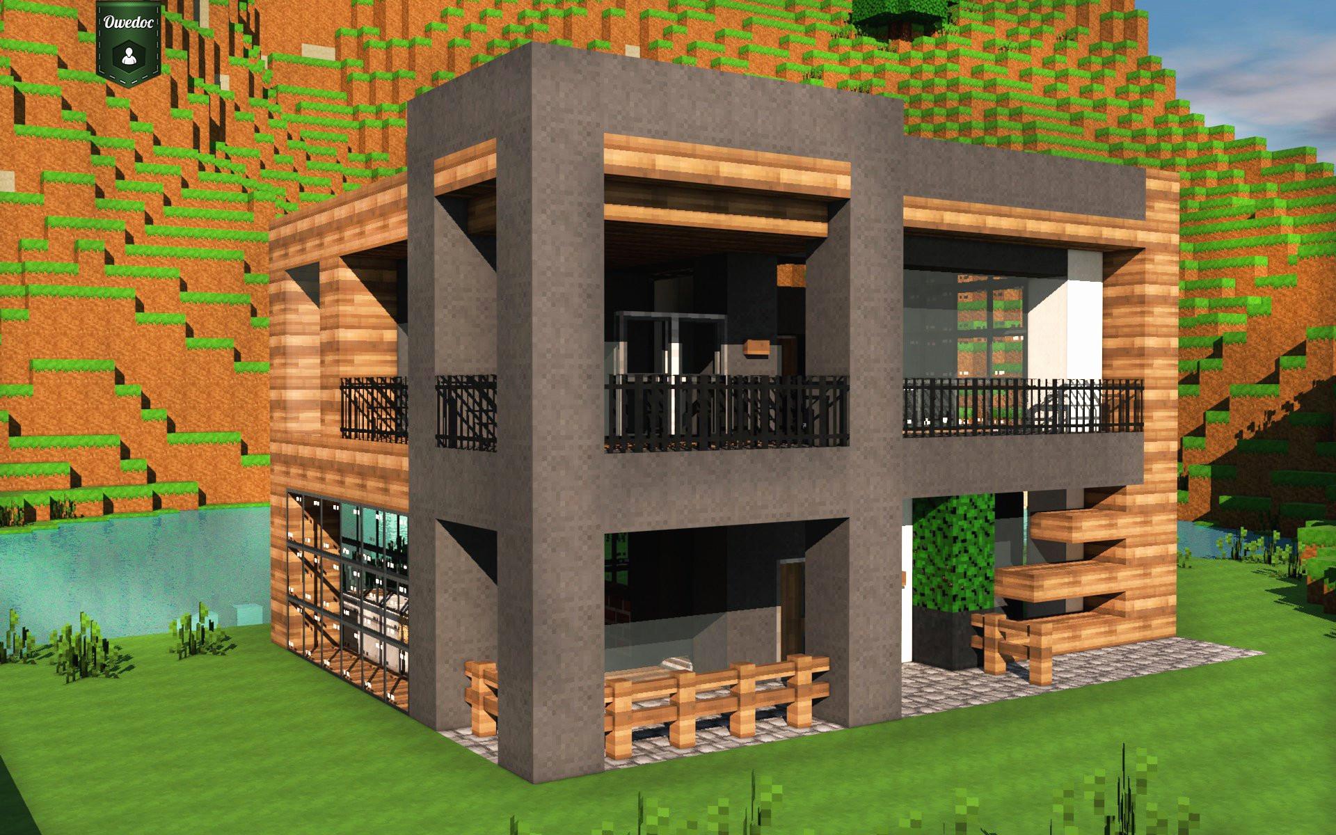 Minecraft Deco Moderne Meilleur De Images Cuisine Moderne Minecraft Nouveau Grande Maison Minecraft Maison R