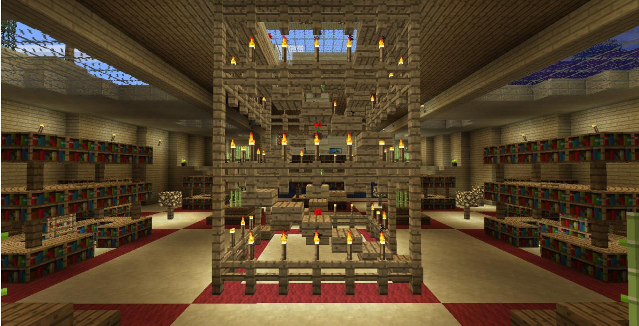 Minecraft Décoration Jardin Beau Stock Décor Escalier Colimacon