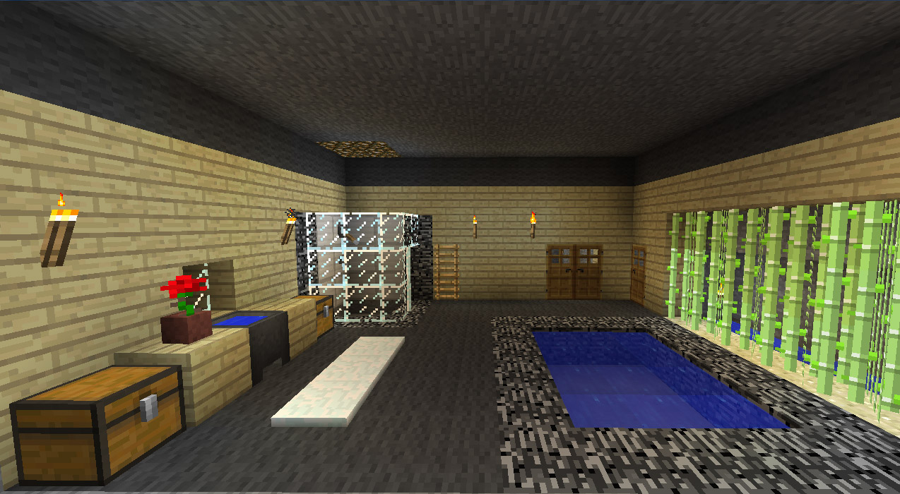 Minecraft Décoration Jardin Impressionnant Collection Beautiful Salle De Bain Moderne Minecraft S Ansomone