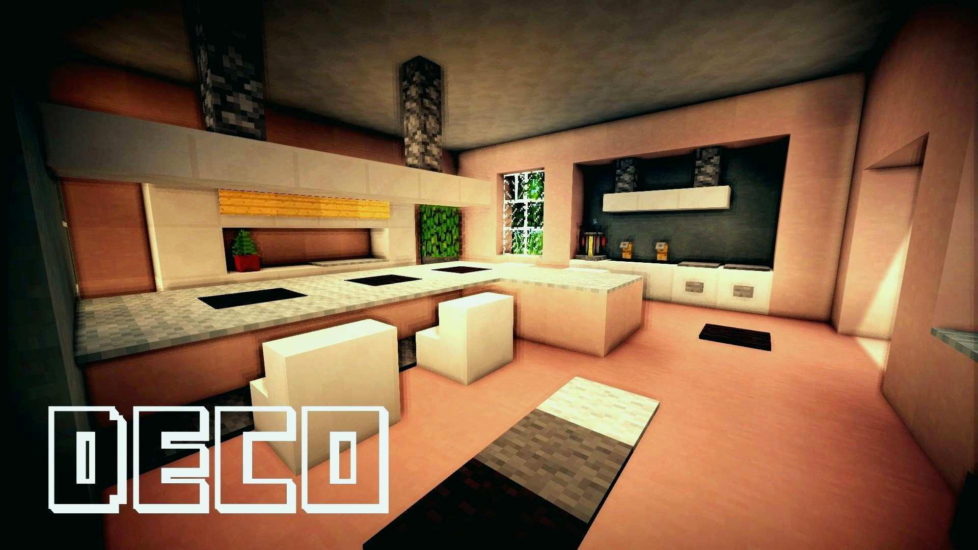 Minecraft Meuble Moderne Beau Collection Cuisine Moderne Minecraft Beau Beautiful Deco Jardin Moderne Ideas
