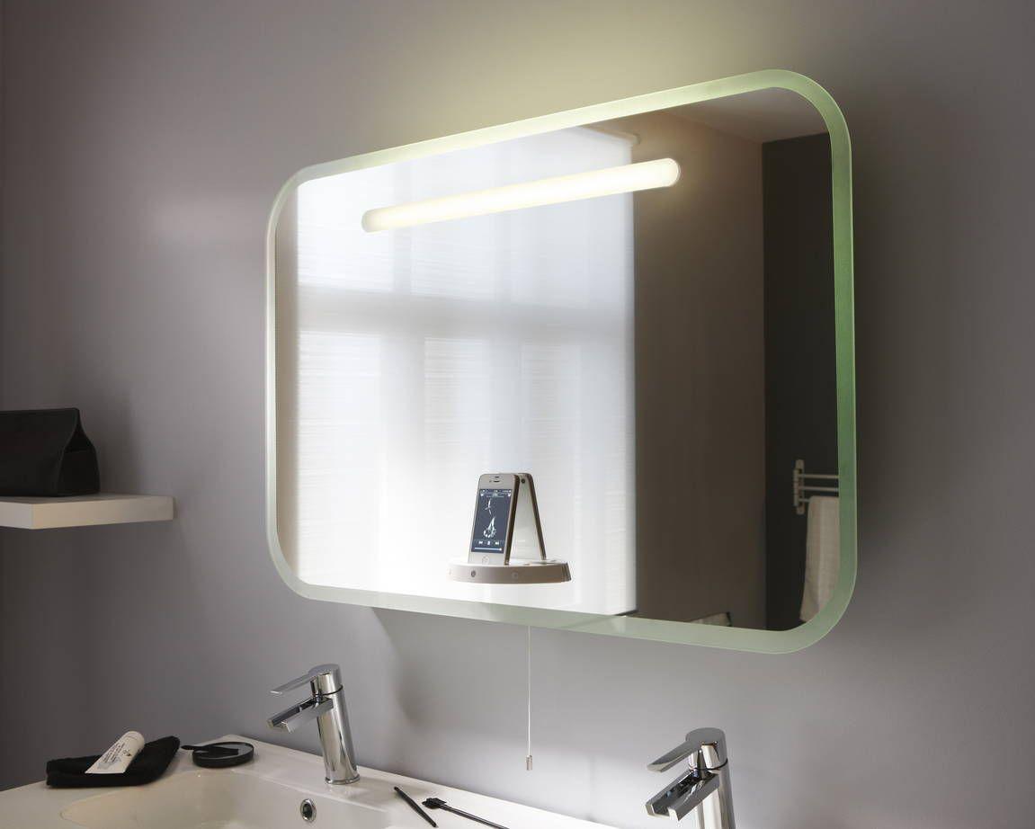Miroir Salle De Bain Lumineux Leroy Merlin Luxe Image Pour Chanter sous La Douche Un Miroir Lumineux Avec Des Hauts