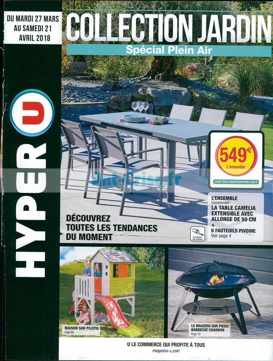 Table De Jardin Plastique Hyper U