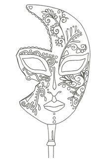 Modele De Quilling A Imprimer Gratuit Meilleur De Photos Coloriage Pour Adulte Anti Stress Masque De Venise  Imprimer Et A