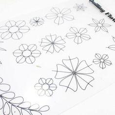 Modele De Quilling A Imprimer Gratuit Nouveau Photos Fleur Gabarit Pour Quilling Réutilisable Plastique