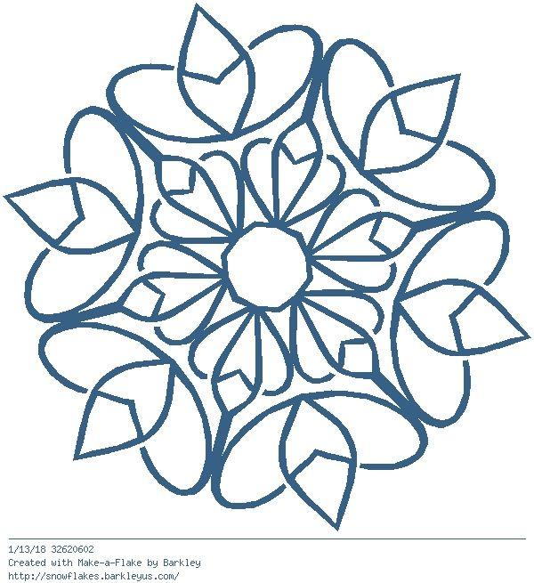 Modele Quilling A Imprimer Beau Photos Make A Flake Snowflakes Make A Flake