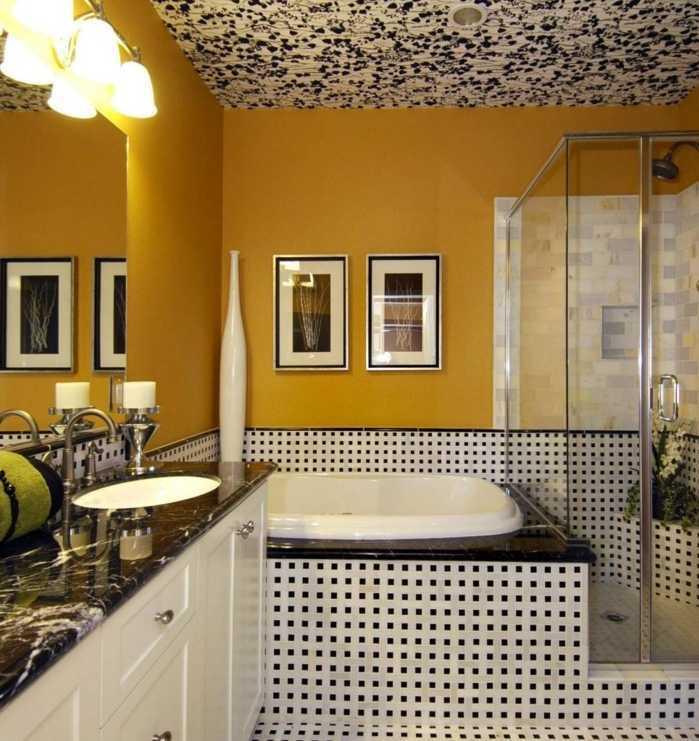 Moisissures Plafond Salle De Bain Frais Image 20 Incroyable Peinture Plafond Sch¨me Déco Chambre