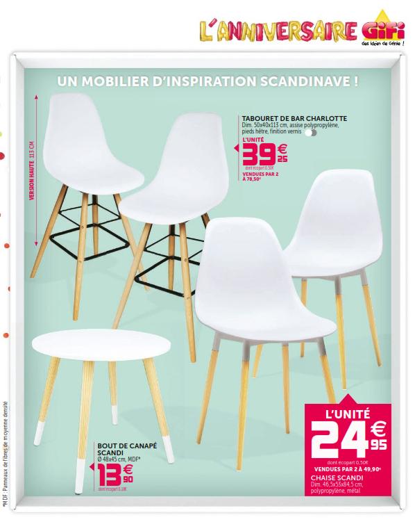 mini tabouret gifi. Black Bedroom Furniture Sets. Home Design Ideas
