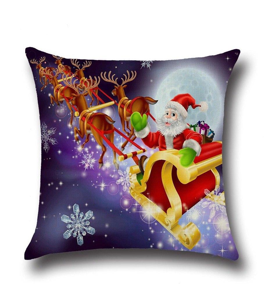 Nettoyer Canapé En Daim Inspirant Photos ⃝marier De No L Santa Claus Elk Coton Linge Décoration Canapé Taie
