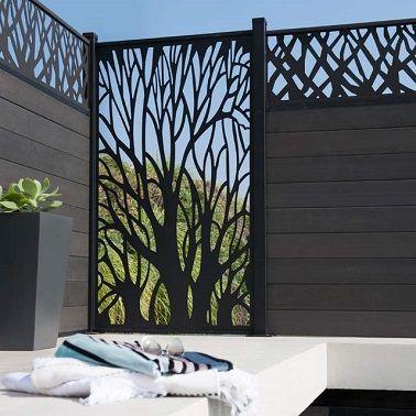 Panneau Treillis Bois Castorama Meilleur De Galerie Le Brise Vue Pour S Abriter Des Regards Indiscrets