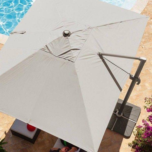 Parasol Rectangulaire Inclinable Castorama Beau Stock Parasol Dport Castorama Fabulous Free Horizon Brand New M