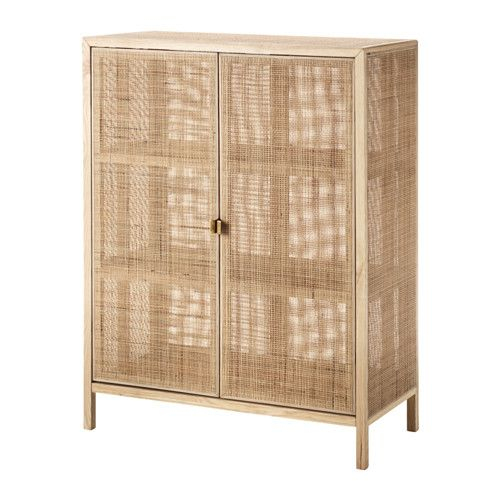 Paravent Ikea Pas Cher Beau Photos Ikea Stockholm 2017 Cabinet Made From Rattan and ash Natural