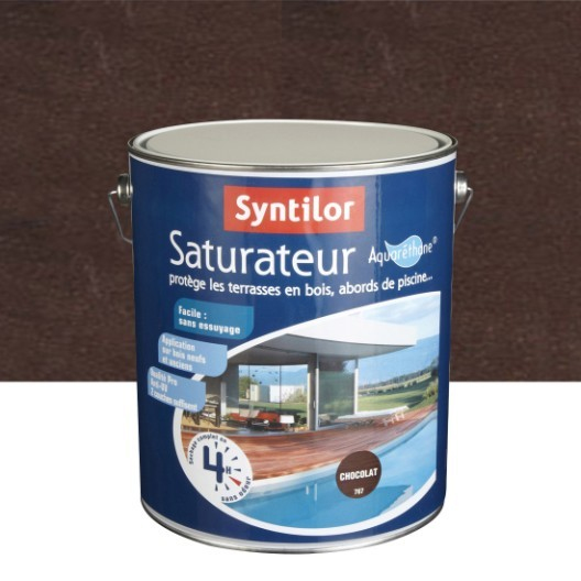 Parquet Teck Leroy Merlin Impressionnant Image Saturateur Syntilor Ultra Protect 5 L Chocolat