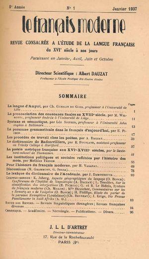 Peau De Vache Synonyme Beau Photos Calaméo Le Francais Moderne 1937