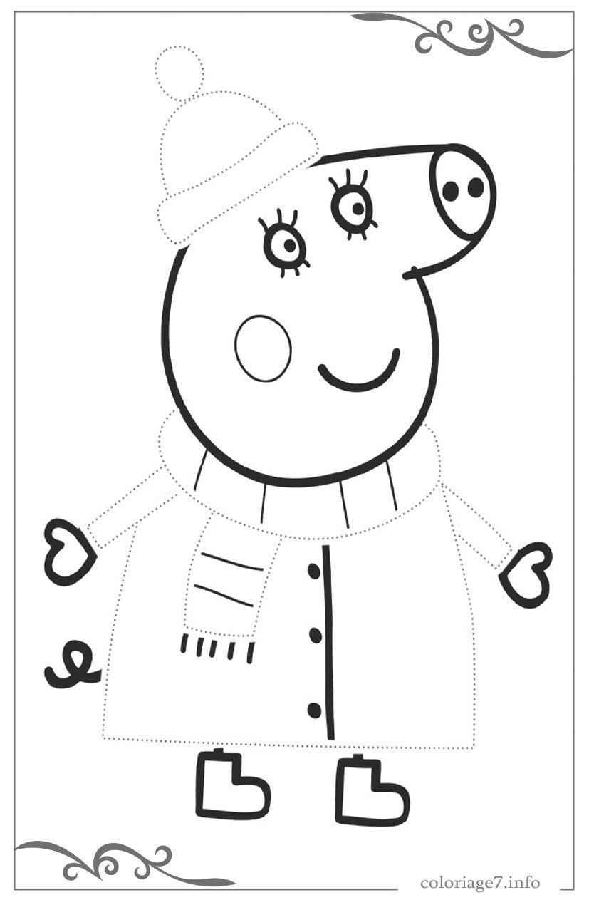 Peppa Pig à Imprimer Meilleur De Collection Nouveau Imprimer Coloriage Peppa Pig