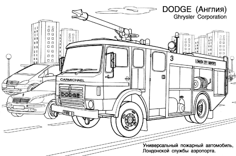 Peppa Pig Coloriage à Imprimer Beau Collection Dessins Gratuits  Colorier Coloriage Camion Pompier  Imprimer