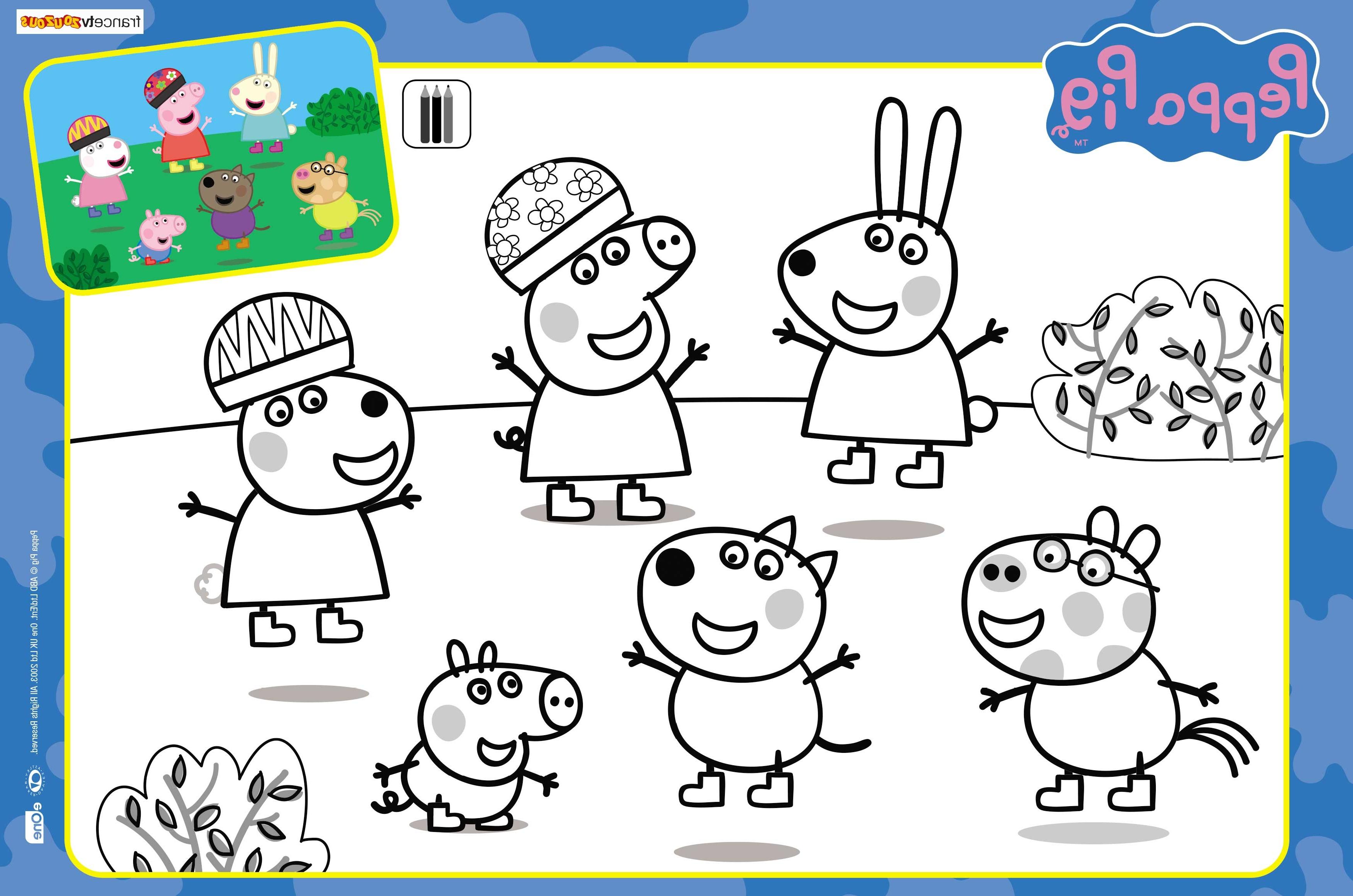 Peppa Pig Coloriage à Imprimer Beau Image Inspirant Dessins  Colorier Peppa Pig – Mademoiselleosaki