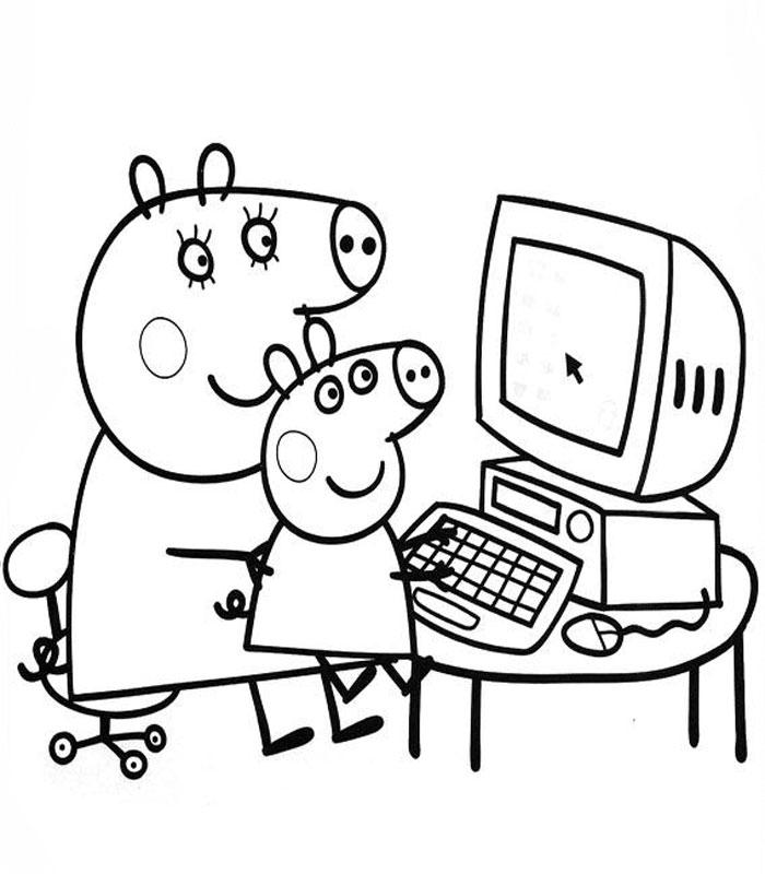 Peppa Pig Coloriage à Imprimer Beau Images Coloriage Noel Peppa Pig Meilleures Idées Coloriage Pour Les Enfants