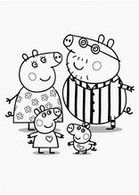 Peppa Pig Coloriage à Imprimer Beau Photographie Free Peppa Pig Printable Word Puzzles Peppa