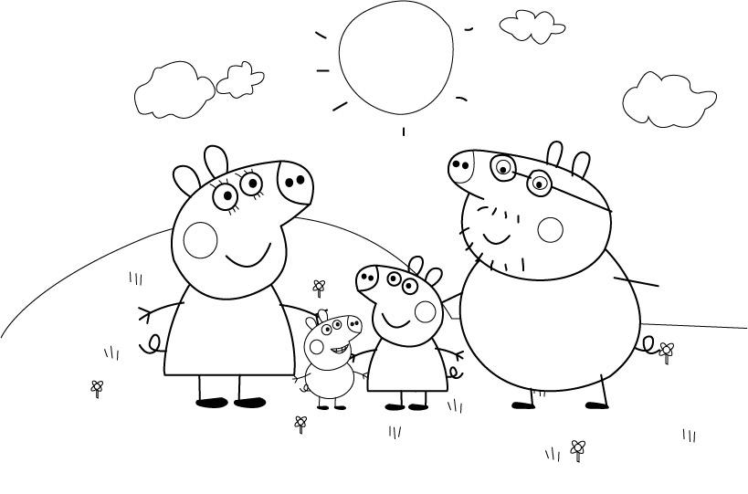 Peppa Pig Coloriage à Imprimer Beau Photos Coloriage Noel Peppa Pig Meilleures Idées Coloriage Pour Les Enfants