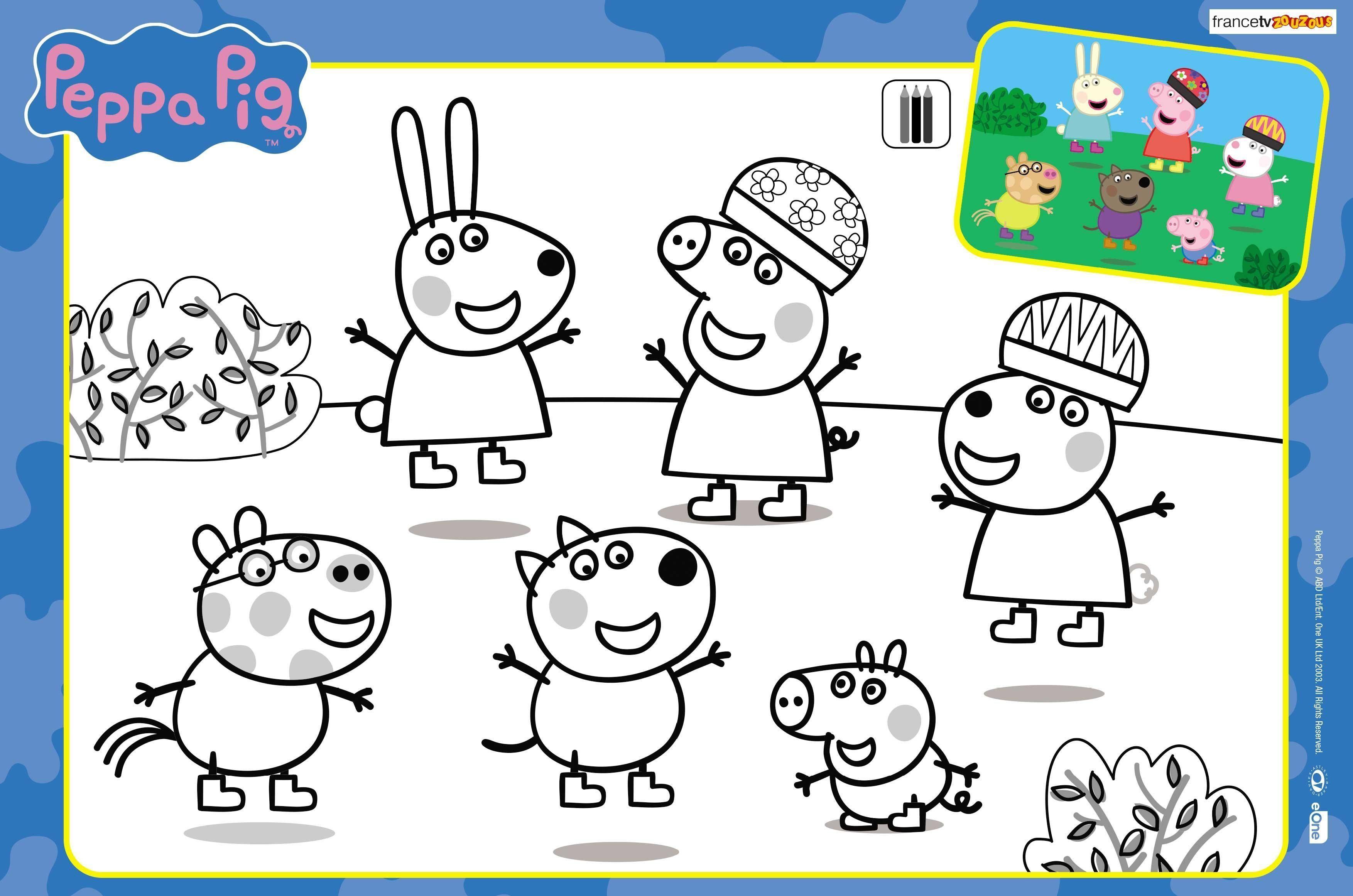 Peppa Pig Coloriage à Imprimer Beau Stock Inspirant Dessins  Colorier Peppa Pig – Mademoiselleosaki