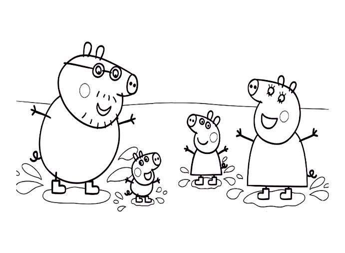 Peppa Pig Coloriage à Imprimer Élégant Collection Coloriage Noel Peppa Pig Meilleures Idées Coloriage Pour Les Enfants