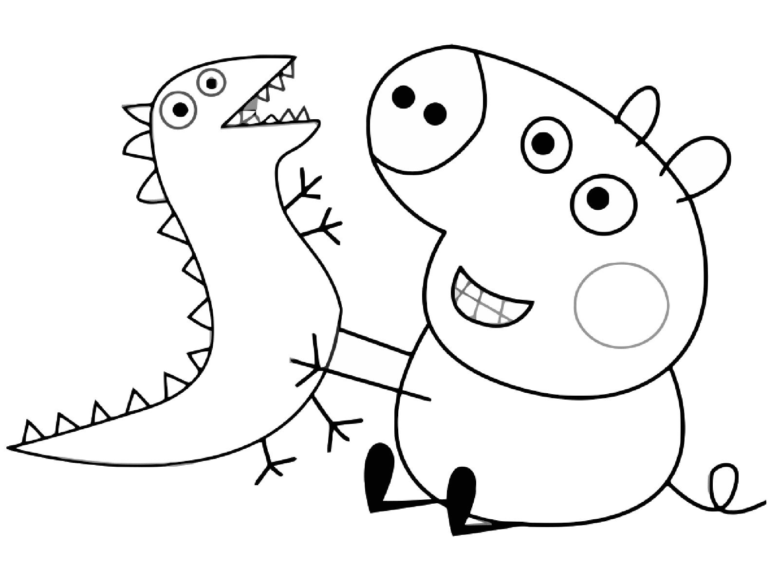 Peppa Pig Coloriage à Imprimer Frais Collection Génial Coloriage De Peppa Pig En Ligne Gratuit
