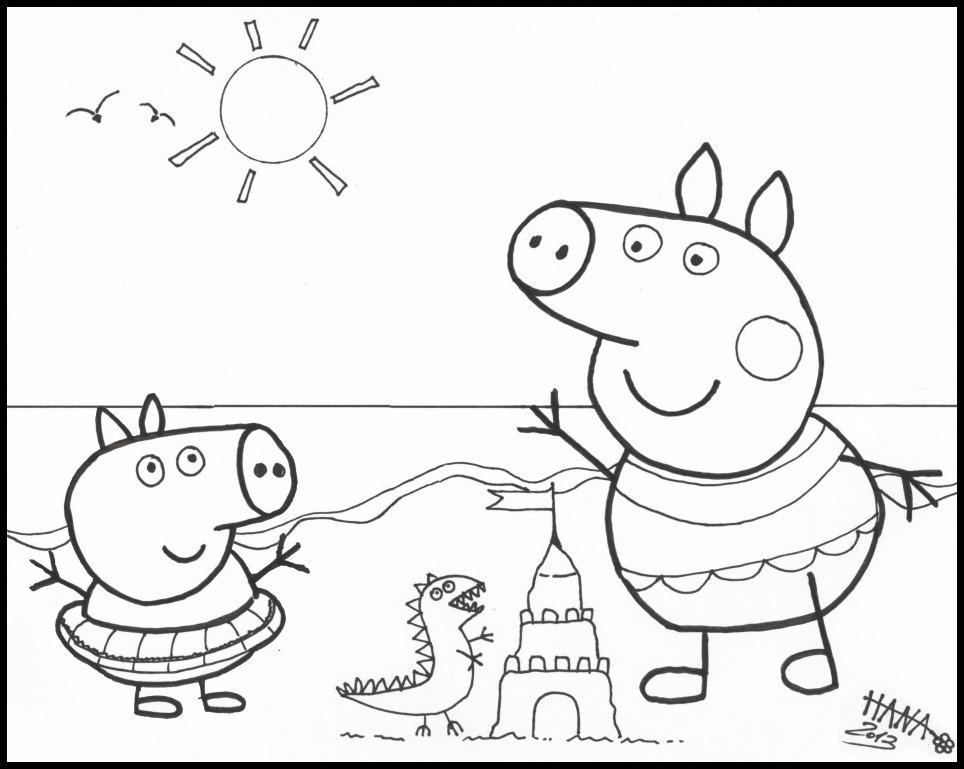 Peppa Pig Coloriage à Imprimer Frais Image Coloriage ƒ Dessiner De Peppa Pig En Ligne