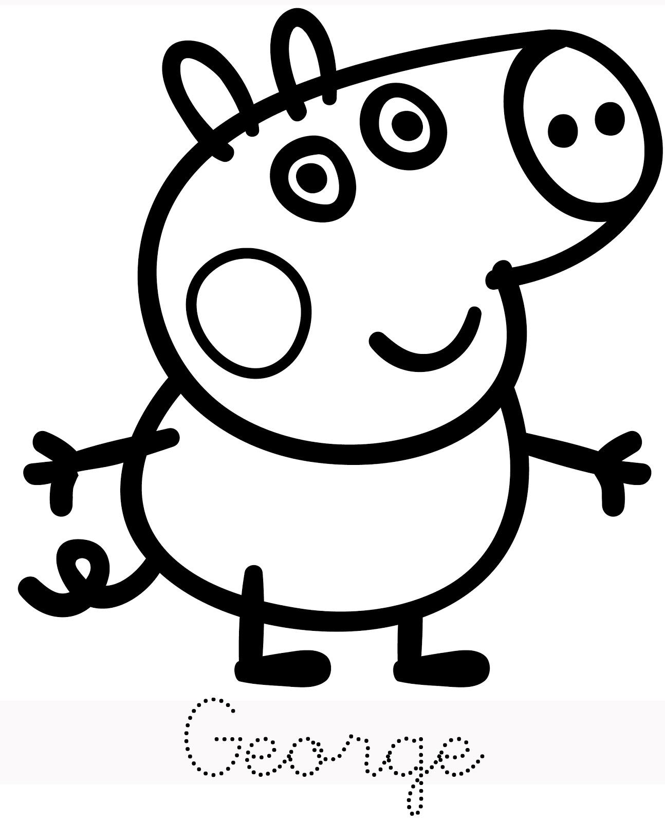 Peppa Pig Coloriage à Imprimer Frais Stock Frais Coloriage A Imprimer Peppa Pig