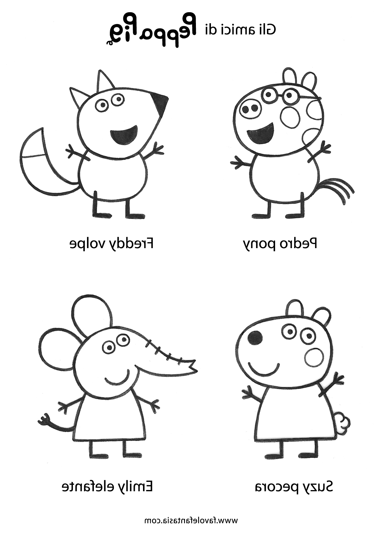 Peppa Pig Coloriage à Imprimer Impressionnant Image Inspirant Dessins  Colorier Peppa Pig – Mademoiselleosaki