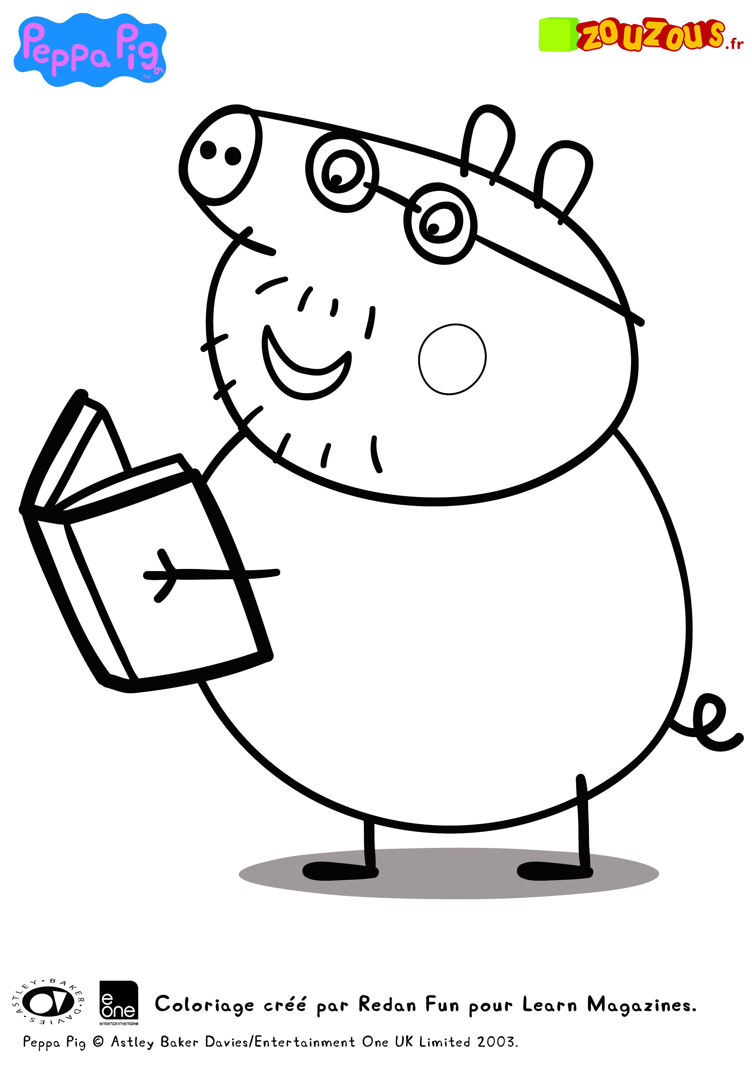 Peppa Pig Coloriage à Imprimer Luxe Photos Inspirant Dessins   Colorier Peppa Pig – Mademoiselleosaki