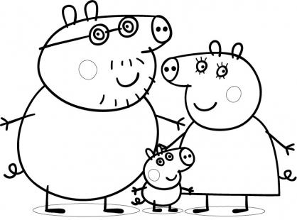 Peppa Pig Coloriage à Imprimer Unique Photographie Coloriage Noel Peppa Pig Meilleures Idées Coloriage Pour Les Enfants