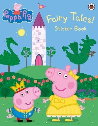 Peppa Pig Imprimer Beau Photographie Peppa Pig Fairy Tales Sticker Book Amazon