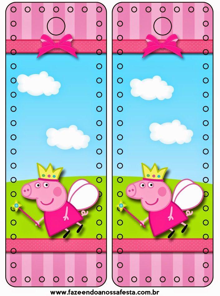 Peppa Pig Imprimer Frais Photos Peppa Pig Fairy Free Party Printables and Backgrounds