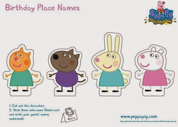 Peppa Pig Imprimer Inspirant Collection Peppa Pig Free Printable Party Mini Kit