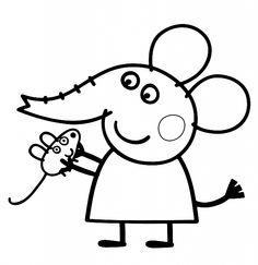Peppa Pig Imprimer Meilleur De Photographie Coloriage Peppa Pig  Colorier Dessin  Imprimer